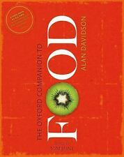 The Oxford Companion to Food by Alan Davidson (2014, Hardcover)