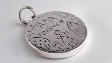 Mama Forever Pendant Mother 100%  .925 silver Mexico Free ship to US and PR