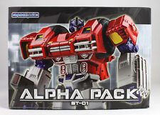 Transformers Spark Toys ST-01 Alpha Pack Optimus Prime NEW in Stock