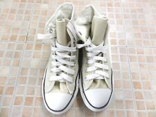Converse All Star Chucks Hi Top Beige Mens EU 35 UK 3 Grade A AB785