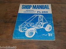 MANUEL REVUE TECHNIQUE D ATELIER HONDA FL 250 ODYSSEY 1976-1981 SHOP MANUAL