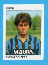 CALCIO FLASH '84 -Figurina n.102- FERRI - INTER -Recuperata