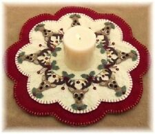 ~*Christmas Reindeer*~Penny Rug/Candle Mat ~*PATTERN*~
