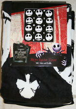 NEW Nightmare Before Christmas THROW Blanket JACK Faces Suits Disney Tim Burton