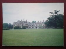 POSTCARD NORTHAMPTONSHIRE RUSHTON HALL - WAS RUN BY RNIB KETTERING NOW A HOTEL