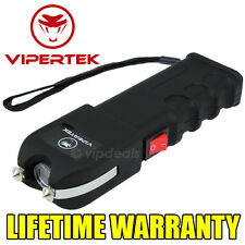 VIPERTEK VTS-989 - 500 MV Self Defense Rechargeable Stun Gun LED Wholesale Lot