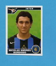 PANINI CALCIATORI 2004-05- Figurina n.154- BURDISSO - INTER -NEW
