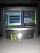 Discovery Kids Electronic ATM dollar coin bank Zillions Teach to Save with card!
