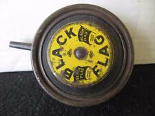 Black Flag Insect Powder Advertising Tin with quick loading spring push