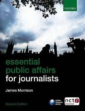Essential Public Affairs for Journalists,GOOD Book