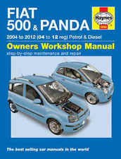 Fiat 500 Repair Manual Haynes Manual Workshop Service Manual 2004-2012 5558