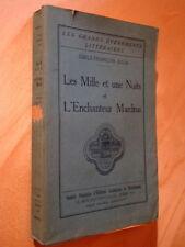Julia Les Mille et une Nuits et l'Enchanteur Mardrus 1935 Islam magique mystique