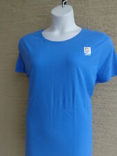 NWT Just My Size Essentials Cotton S/S Crew Neck Tee Top Hanes Blue 5X