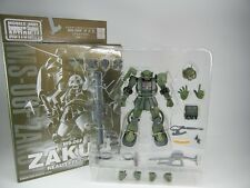 """Extended MSIA """"MS-06F ZAKUⅡReal Type Color ver."""" Figure EMSIA MIA BANDAI"""