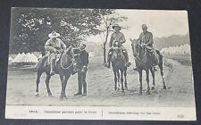 CPA 1915 GUERRE 14-18 CANADIENS PARTANT POUR LE FRONT CANADA