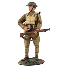 William Britain WW1 US Infantry Standing Reaching for Cartridge 23091 New