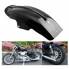 Black Rear Mudguard Fender For Harley Sportster 883 Bobber Chopper Cafe Racer 12