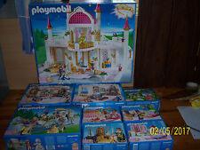 Lot de 9 boites  palais des merveilles réf 4250 4251 à 4258 de 2005 Playmobil
