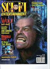WoW! Sci-Fi Entertainment V1#1 Premier Issue! Wolf! Dracula Fest! The Mask!