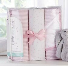 Stars and Stripes 3 Piece Cot Bedding Setby Clair De Lune RRP  £45
