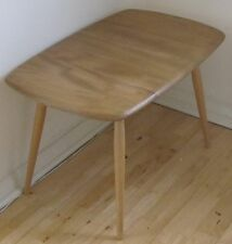ERCOL MODEL 213 MID CENTURY COFFEE / SIDE TABLE ELM & BEECH GOOD CONDITION