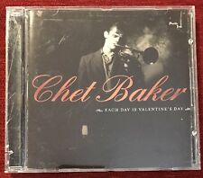 Each Day Is Valentine's Day  CD - Chet Baker