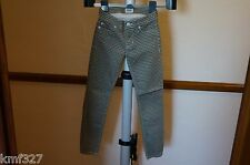 Authentic Hudson Designer Krista Super Skinny Jeans 25 Holiday15 WA407TEN-CARG