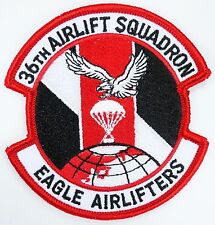 USAF 36th ALS AIRLIFT SQUADRON EAGLE AIRLIFTERS PATCH