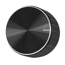 Black Aluminum Volume Control Amplifier Knob Wheel AD