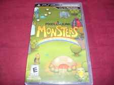 PIXEL JUNK MONSTERS DELUXE PSP FACTORY SEALED!!!  C@@L!!!  SHIPS FAST!!!