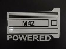 M42 Powered BMW E30 E21 E36 2002 318i 318ti window sticker vinyl decal #228