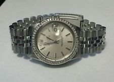 Rolex Men's Stainless Jubilee Date Diamond Bezel *SALE*