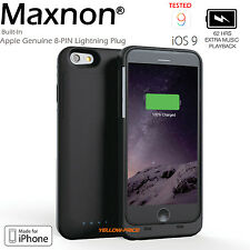MFI External Power Bank Backup Battery Charger Case 4000mAh F iPhone 6+ 6S+ Plus