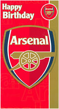 Arsenal football club joyeux anniversaire carte licence carte