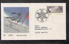 B 5203 ) Bund Germany 2010 FDC  - Alpine-Ski-WM 2011