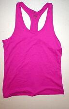 Womens Nike Pink Purple Tank Top New Hot Yoga Pilates Run Dri Fit L Barre Bright