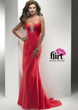$258 NWT FLIRT BY MAGGIE SOTTERO PROM/PAGEANT/FORMAL DRESS/GOWN P2779 SIZE 4