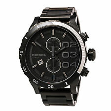 Diesel DZ4326 Gent's Chrono Black Dial Black Steel Bracelet Watch