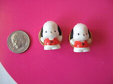 SANRIO POCHACCO BUTTON COVERS SET OF 2 1976/1993 VINTAGE NEW