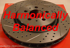 Made From Brembo Rotors Drilled Slotted Hamoincally Balanced Fits S60R V70R Frnt