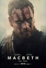 MACBETH MANIFESTO WILLIAM SHAKESPEARE MICHAEL FASSBENDER MARION COTILLARD