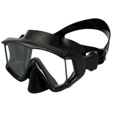 Promate Panoramic 3-Window Wide-view Scuba Dive Mask Snorkeling Silicone Purge
