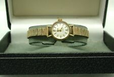 1970's Ladies Solid 9ct Gold Smiths Bracelet Watch