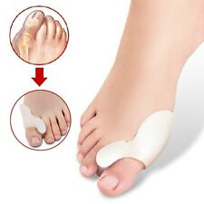 2 x Gel Bunion Protector Corrector Toe Alignment Separator Straightener Spreader