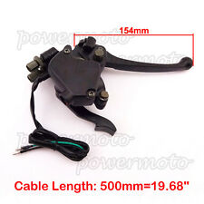 Chinese Thumb Throttle Handle Brake Lever For 50 90 110 125 150cc 250cc ATV Quad