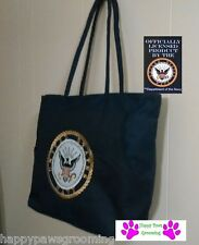 EMBROIDERED UNITED STATES US NAVY NAVAL SEAL Heavy Duty TOTE BAG-Beach Shopping