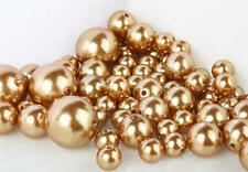Easy Elegance  34 ALL GOLD Pearl Beads for Centerpieces w/ free JellyBeadZ®