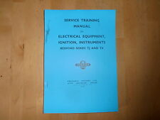 Bedford.TK/TJ Manual.Electrical equipment.Ignition,Instruments.TS.510.