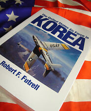 UNITED STATES AIR FORCE IN KOREA F-86 MiG-15 Robert Futrell USAF Study Mig Alley