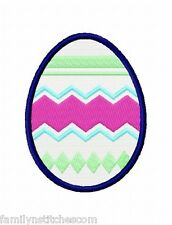 Decorated Easter Eggs 18 Machine Embroidery Designs 2 sizes on multi format CD